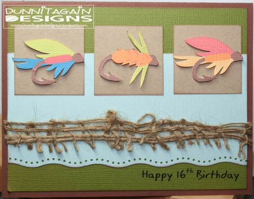 Fly fishing lures birthday
