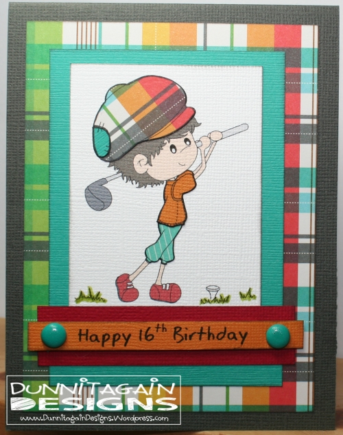 Golf Kid Birthday